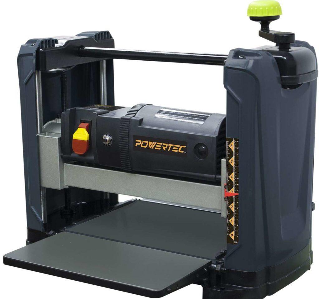 powertec pl1251 benchtop planer