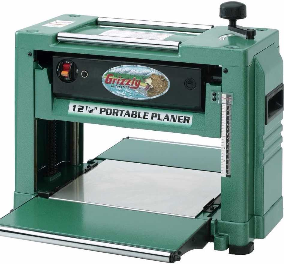 grizzly thickness planer review wood benchtop planer