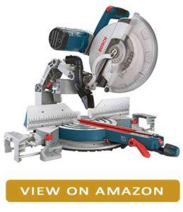 Bosch double bevel sliding miter saw
