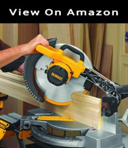 Dewalt DW715 single bevel compound miter saw