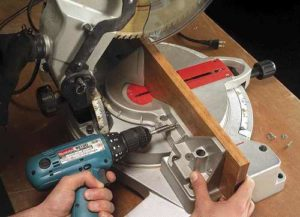 auxiliary miter saw fence, miter saw tips