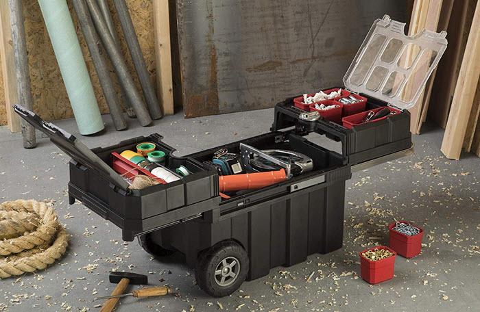 keter masterloader tool box storage