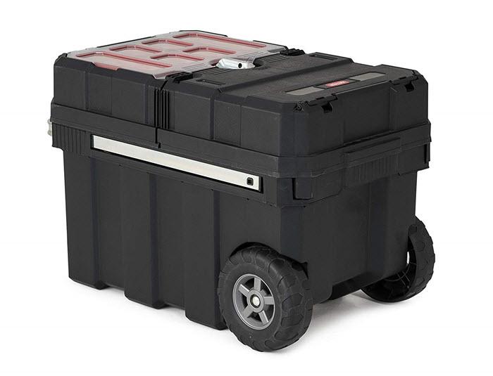 keter masterloader portable tool storage box