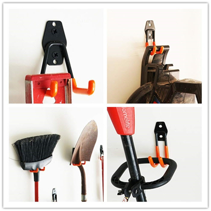 CoolYeah double steel hooks tool storage