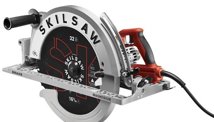 skilsaw SAWSQUATCH worm drive circular saw