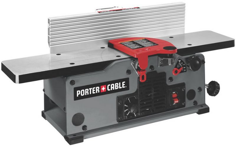 porter cable pc160jt benchtop jointer